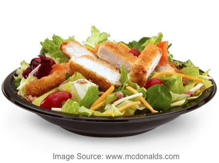 Most Unhealthy Fast Food Salads