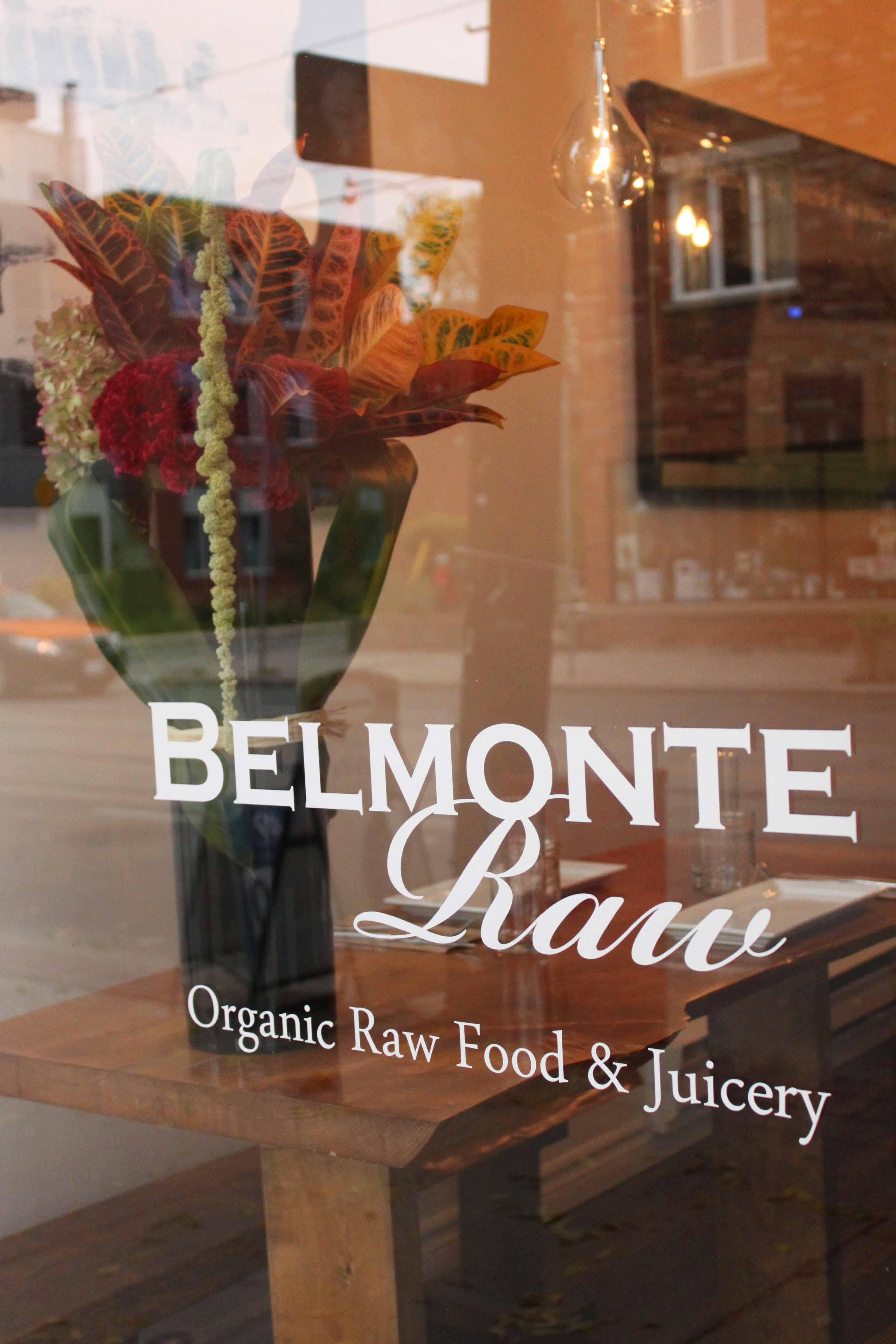 Belmonte Raw Restaurant Review