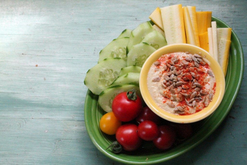 Zucchini and Summer Squash Hummus