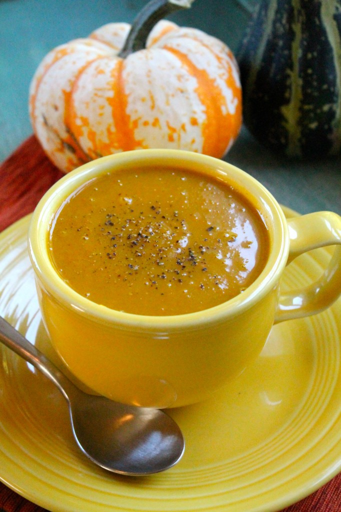 Curried Butternut Squash and Carrot Soup