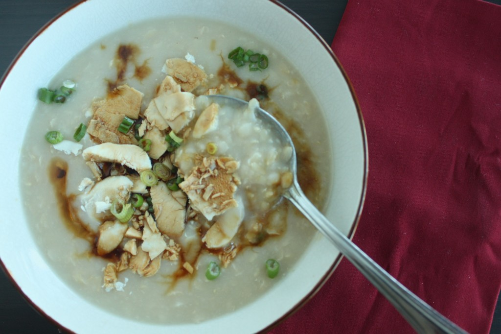 Enjoy congee especially during the cool winter months - it will keep you warm and satisfied.