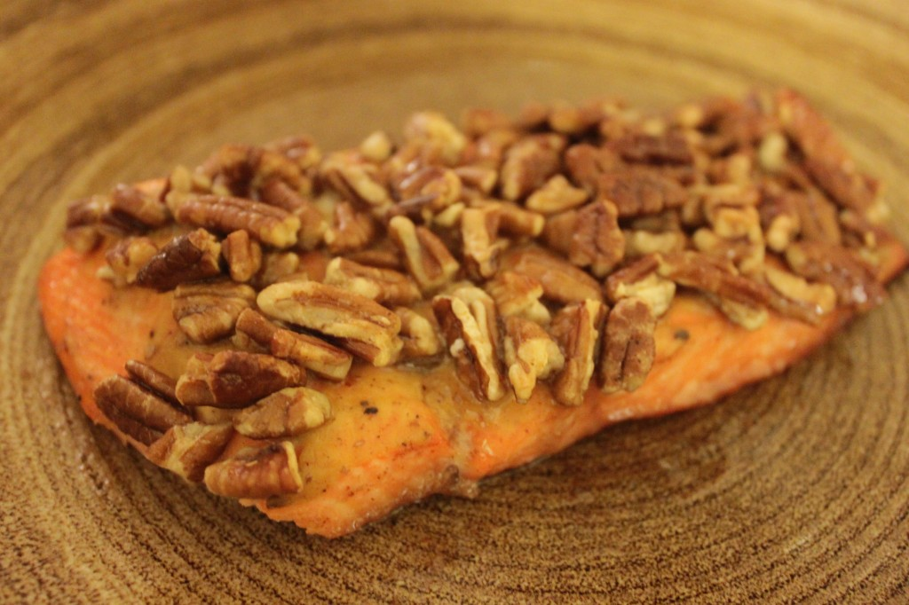 Maple and Pecan Salmon