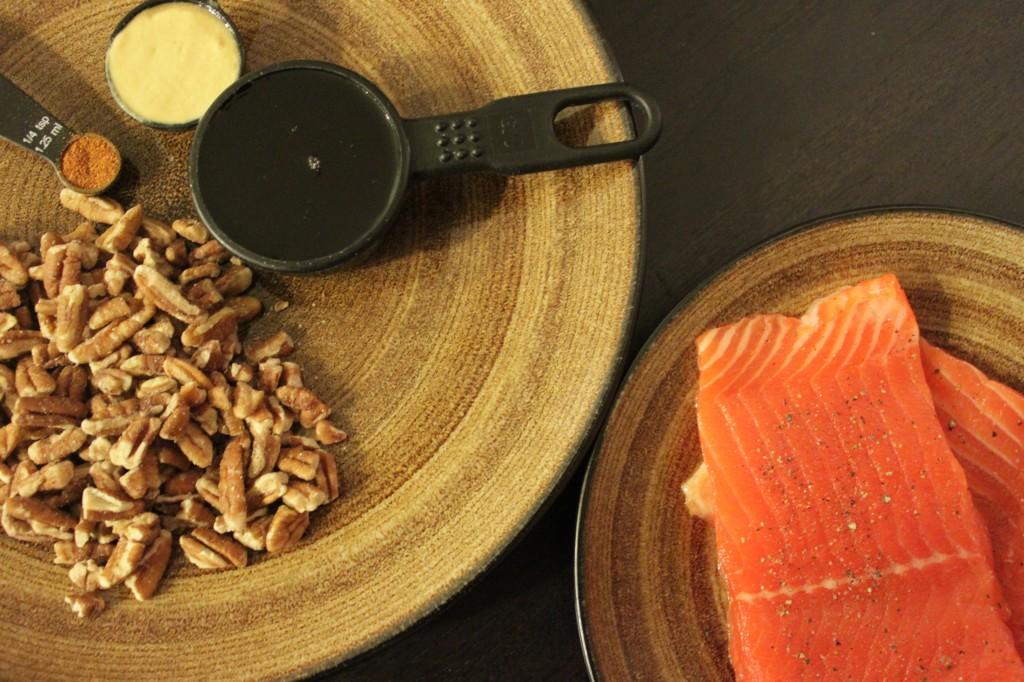 Sweet, Sweet Pecan Salmon