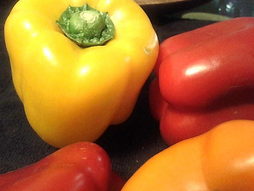 Bell Peppers are a rich source of Vitamin C