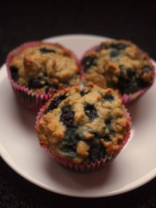 Heavenly Coconut Blueberry Muffins