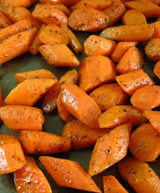 Rosemary Roasted Carrots - the perfect side-dish for just about anything!