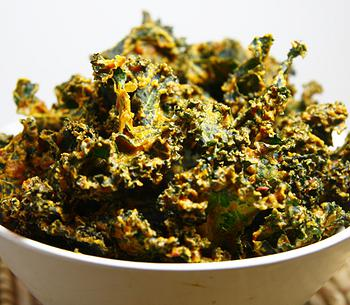 Chipotle Kale Chips - Spicy!