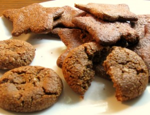 Ginger molasses cookies - for anytime of the year!