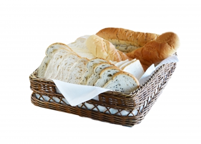 wheat bread basket