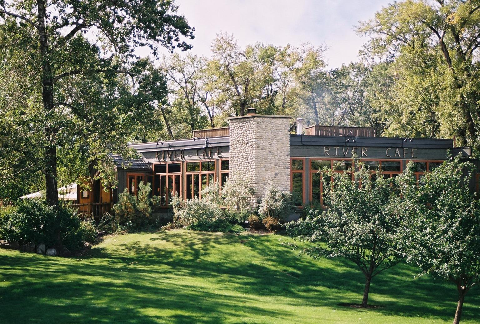 Wedding River Cafe River Cafe Exterior