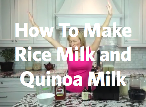 Video: How to make Rice Milk and Quinoa Milk