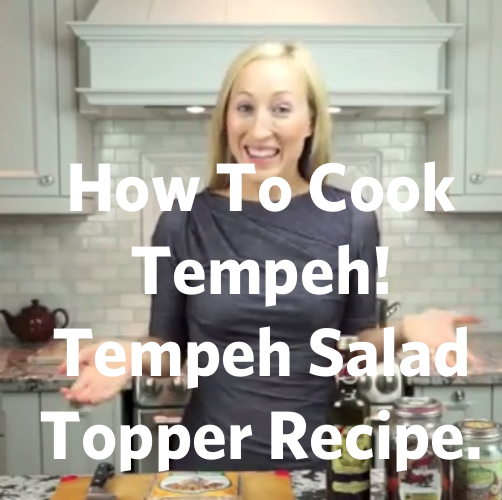 Video: Tempeh Salad Topper