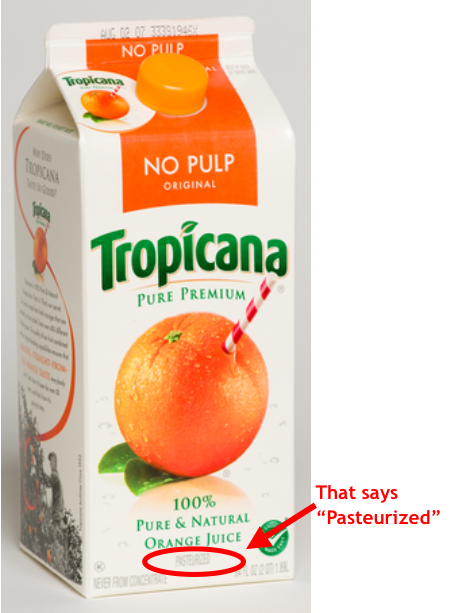 SAD TRUTH about Not From Concentrate ORANGE JUICEThe Naked ...