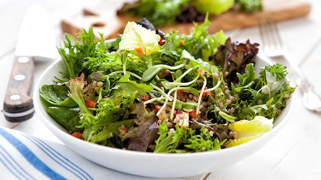 Farmer's Table Health and Wellness Salad