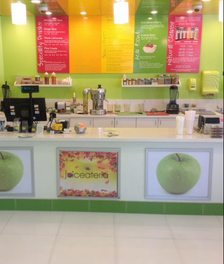 Juiceateria Inside