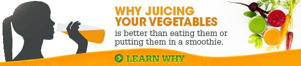 Why Juicing Your Vegetables is the best
