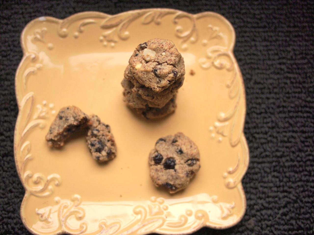 oatmeal currant cookies
