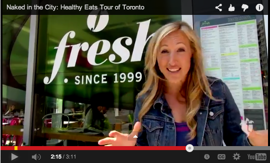 Naked in the City: Healthy Eats Tour of Toronto