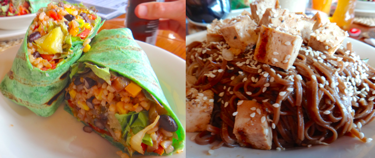 wrap and soba